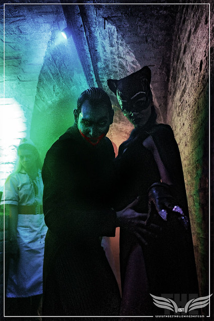The Establishing Shot: THE JOKER & CATWOMAN AT THE ROGUES GALLERY - CREATION OF A SUPER-VILLAIN BOOK LAUNCH @ THE CRYPT GALLERY, LONDON - OCT 2015