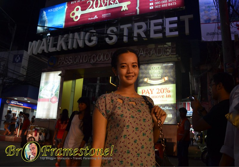 Walking Street Pattaya, Thailand #AirAsia #FAMTrip