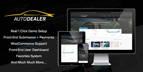Themeforest AutoDealer v1.6.4 - Car Dealer WordPress Theme