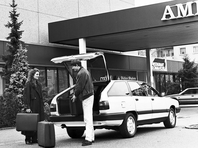 Концептуальный гибрид Audi Duo C3. 1989 год