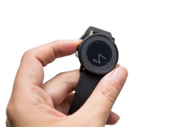 最優雅的智慧手錶!最美的 Pebble !圓錶超薄的 Pebble Time Round 開箱 @3C 達人廖阿輝