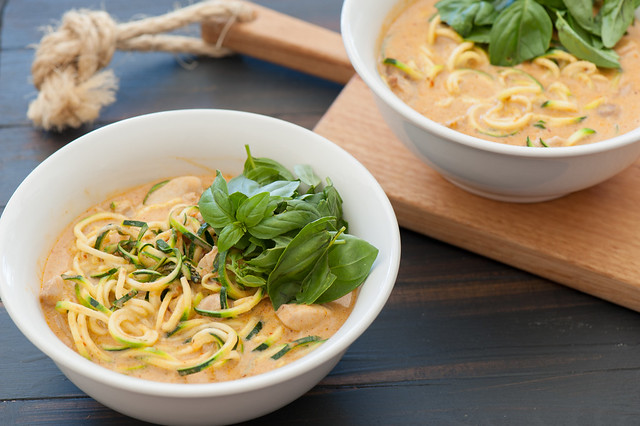Zucchini Noodle Laksa-2