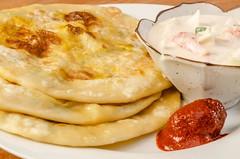 Aloo Paratha or Bread stuffed with potato