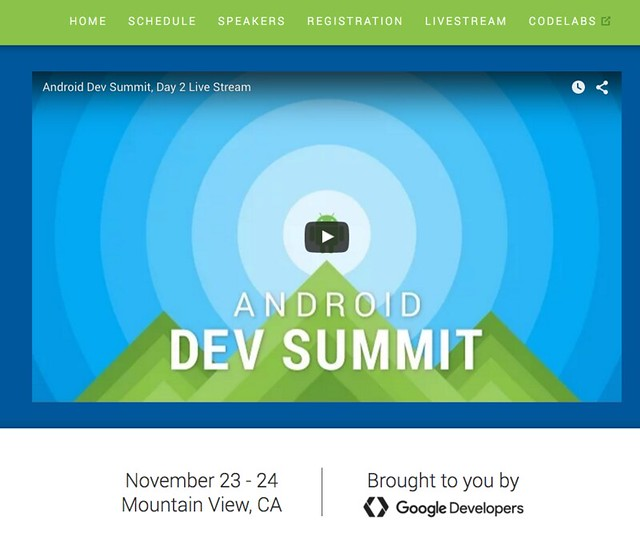 Android Dev Summit