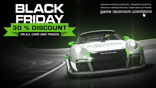 R3E Black Friday