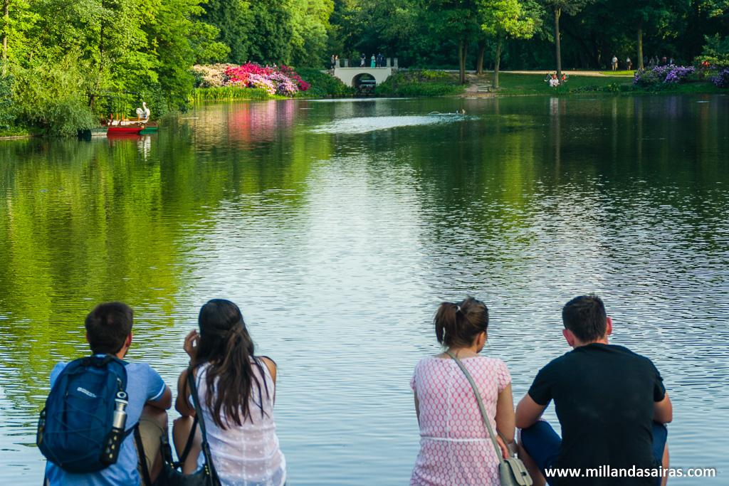 Lago del Parque Real Łazienki