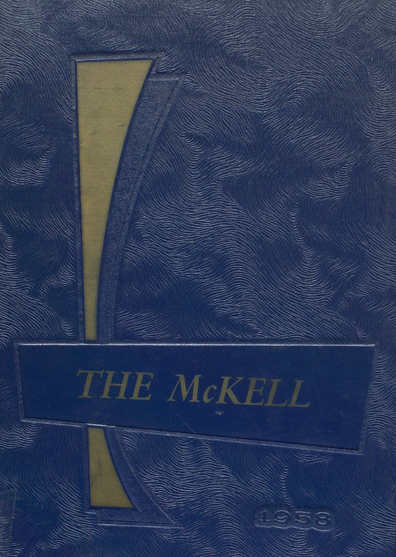 1958 McKell High School Yearbook