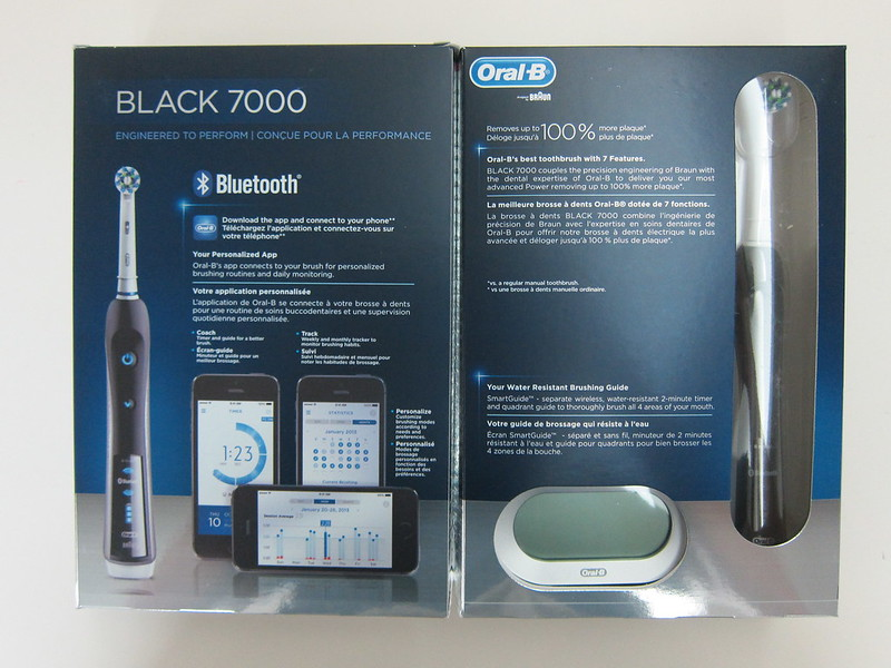 Oral-B Black 7000 - Box Open