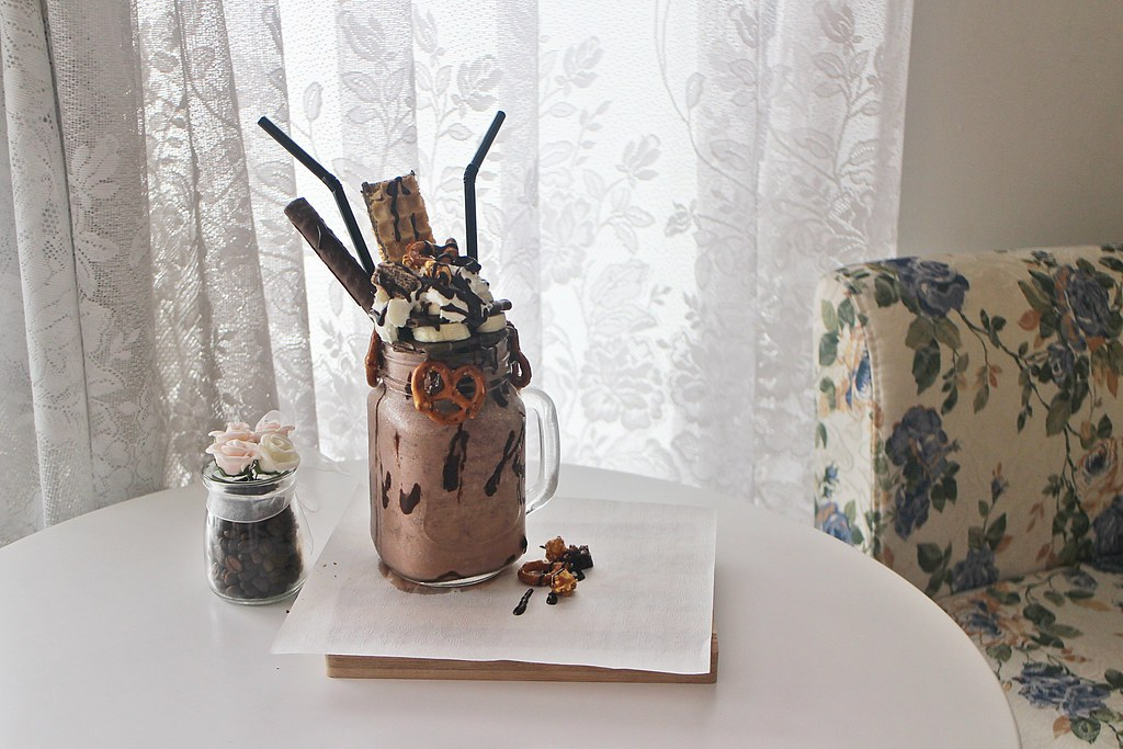 Desserts in Johor Bahru: Milkshake by J.C Cafe
