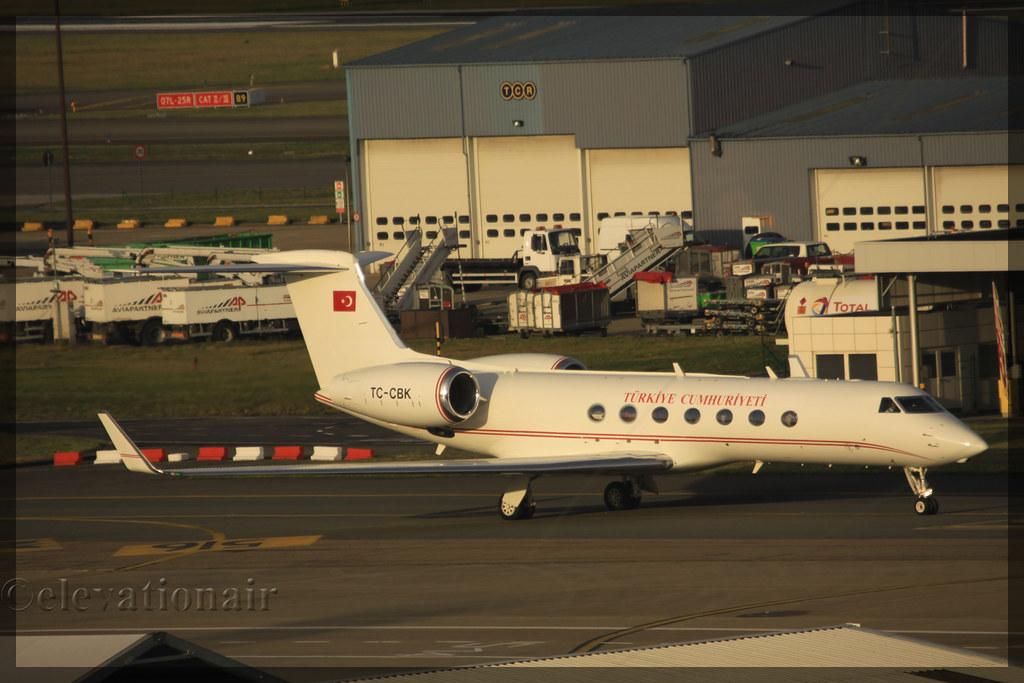 TC-CBK - GLF5 - Turkuaz Airlines