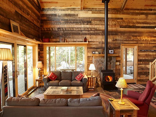 Impressive Rustic Living Room Ideas for Warm and Comfortable Interior