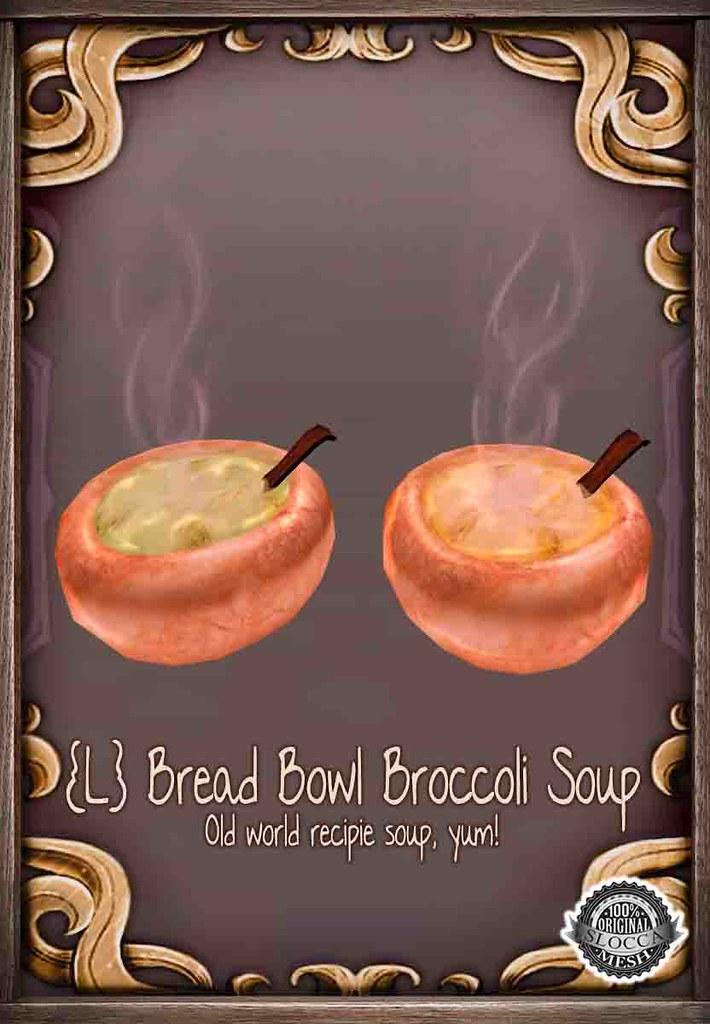 {L} Bread Bowls
