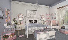 Valentine's Day-Pretty in Pink Bedroom