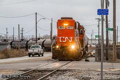 IC 9619 | EMD GP38-2 | CN Memphis Subdivision