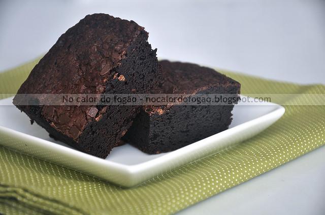 Fudgy Brownies (receita pequena)
