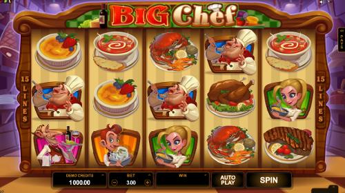 Big Chef Slot Machine