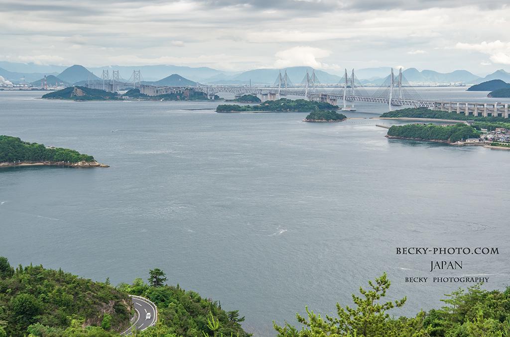 鷲羽山展望台(わしゅうざんてんぼうだい), 岡山県倉敷市