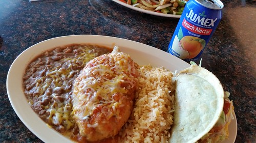 Chile Relleno and Hard Shell Taco