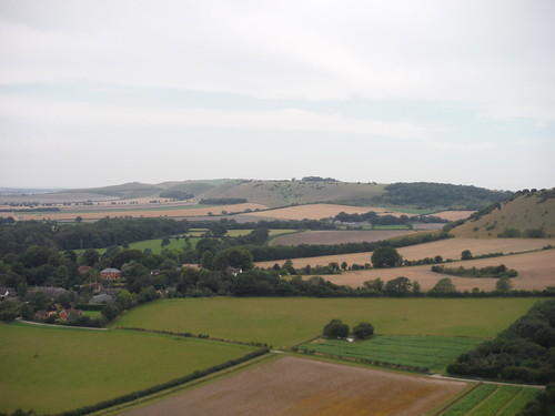 Along Huish Hill to the West