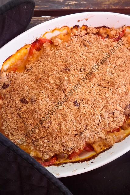 Crumble de tomates / Tomato Crumble
