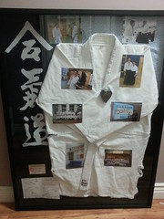 A labour of love. This gi gave me more than 5 years of loyal service, and I wanted to honour it and the time I spent practicing in it.