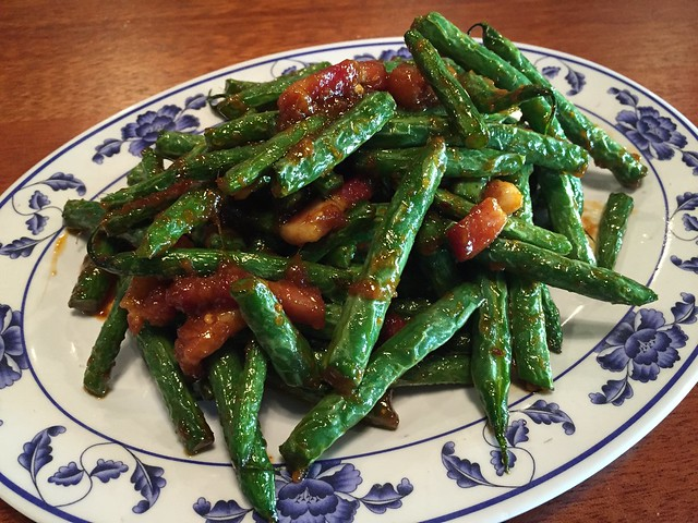 Blistered green beans - Hawker Fare