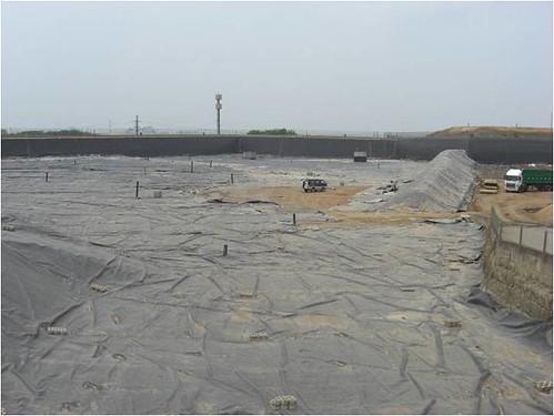 廢土掩埋處理場。圖片來源:環保署。