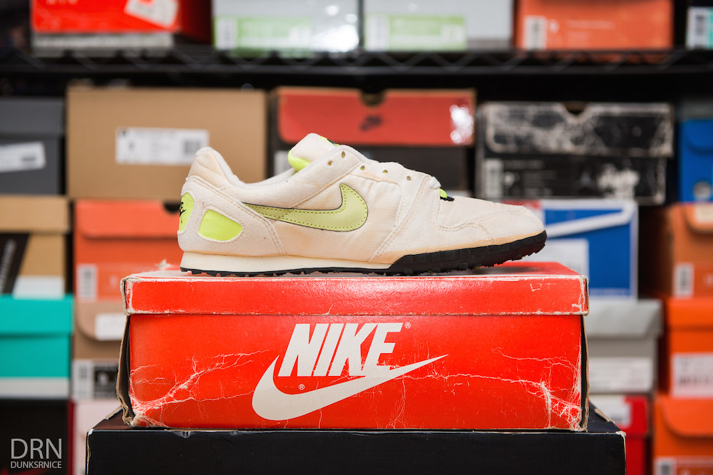 1991 White & Lime Waffle Racers.