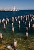 St. Ignace lighthouse and pier pilings by WPC_Greenspace_Gavin