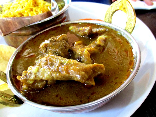 Cafe Ind mutton bryani