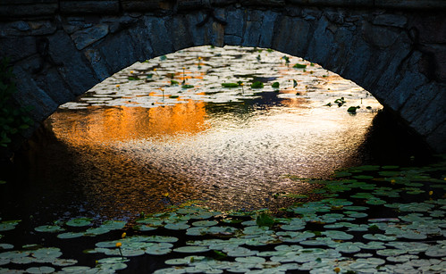 bridge light sunset summer sun castle set canon eos gold se is arch sweden outdoor mark iii ii 5d sverige mm usm bro 70200 ef solnedgång örebro archbridge f28l svartån örebrocastle örebrolän canoneos5dmarkiii canonef70200mmf28lisiiusm