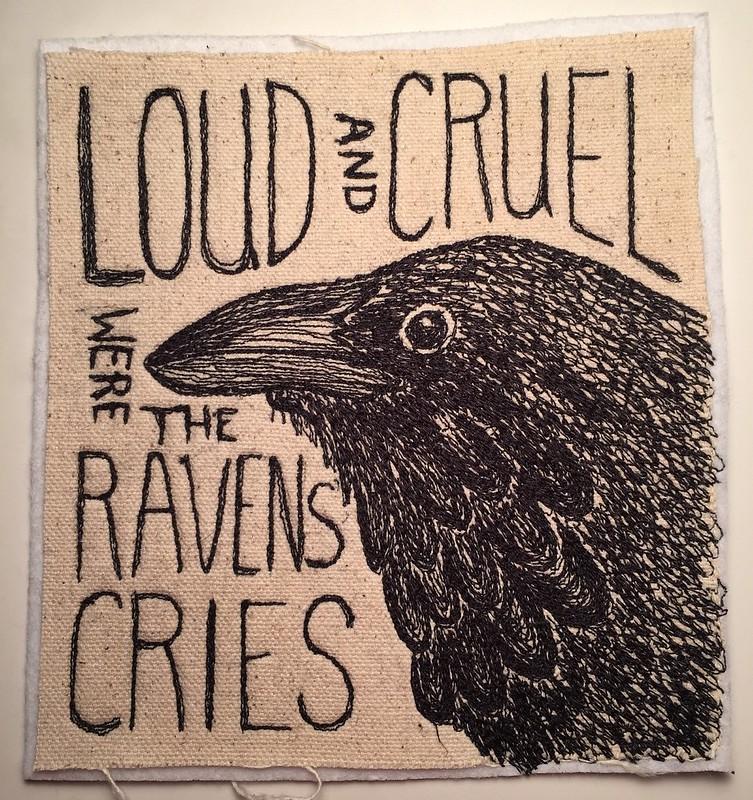 drawlloween day 11: raven