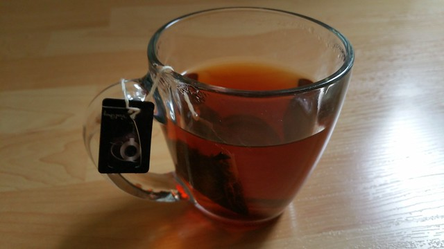 6 Mountains Tea - second steeping