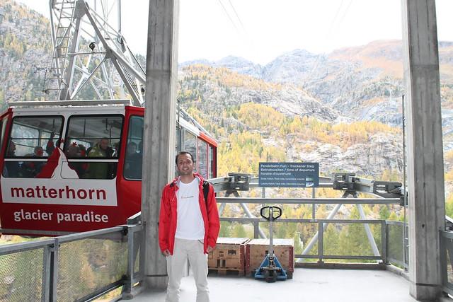 matterhorn glacier paradise cable car