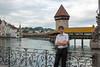 День 8. Люцерн - за мной знаменитый Капельбрюкке (Kapellbrücke) - самый старый деревянный мост в Европе - построен в 1365 году.