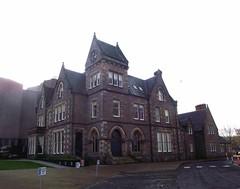 Eden Court Bishops Palace in Inverness Scotland