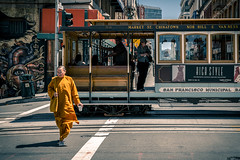 SFO Streets: the monk
