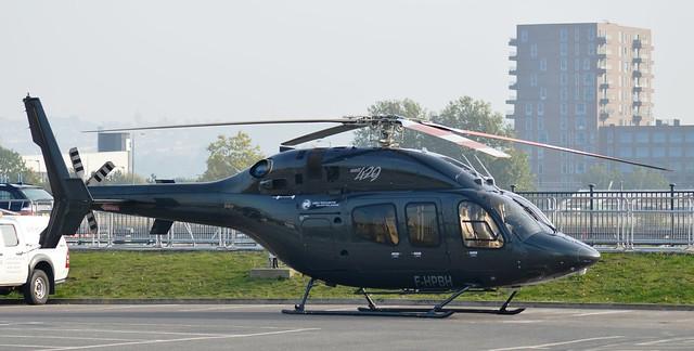 F-HPBH Bell 429 Global Ranger (18) @ Excel London 03-10-15