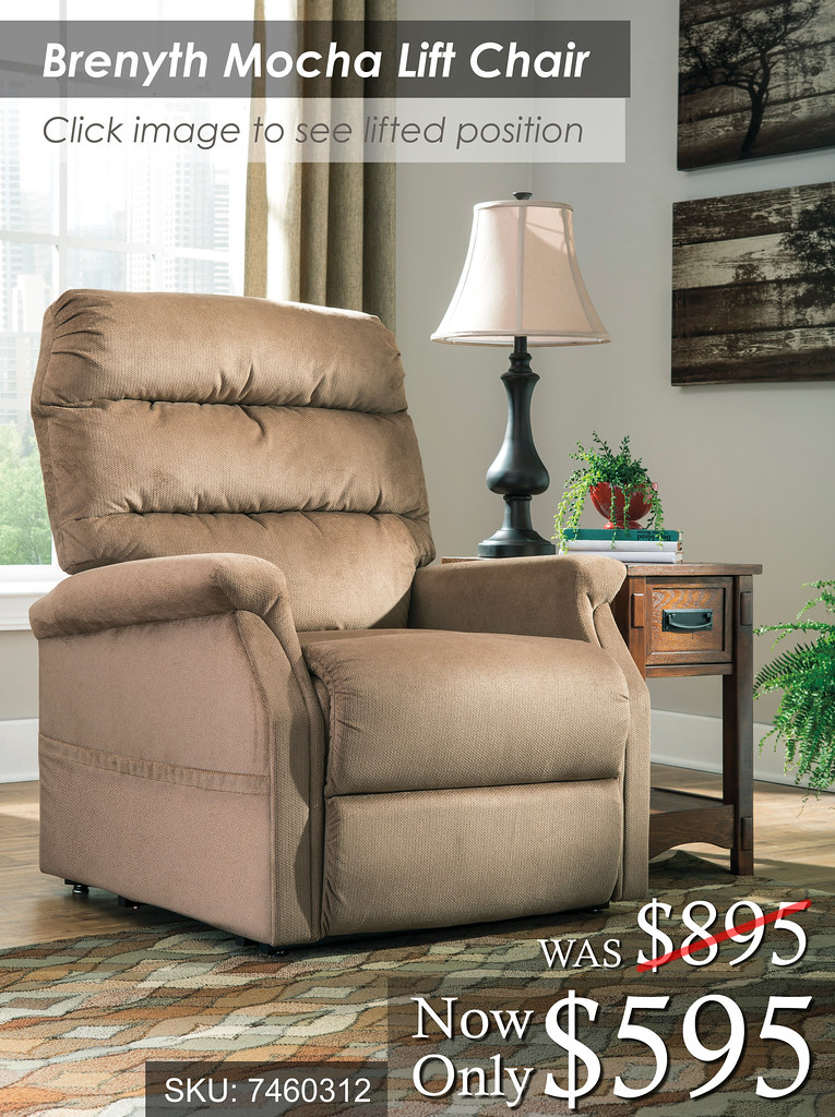 Brenyth Mocha Lift Chair