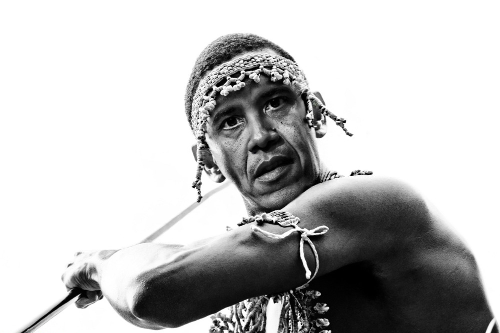 151018_USA_Barack_Obama_the_Warrior_BW_6x9