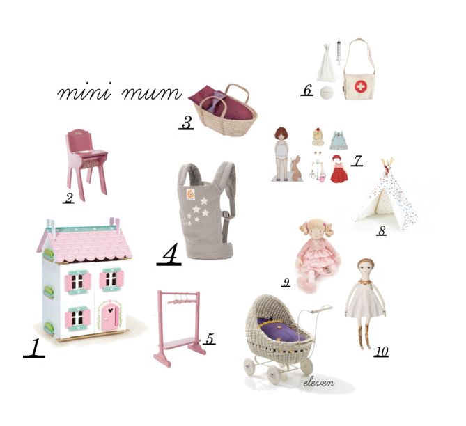 gift guide for little mums - by Paul & Paula