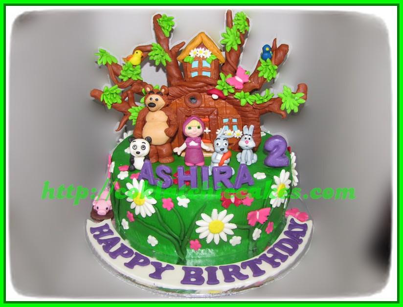 Cake Masha and the Bear