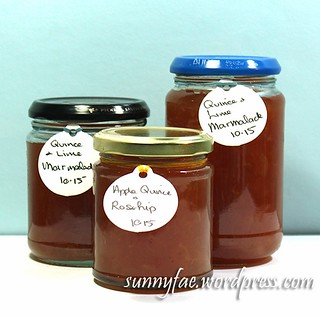 quince lime marmalade rosehip apple