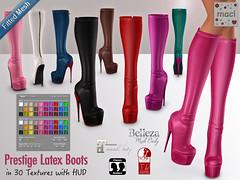 Maci - Prestige Latex Boots