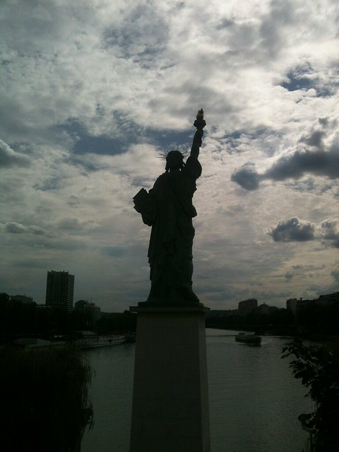 Statue of Liberty, Paris, Statue de la Liberté à Paris