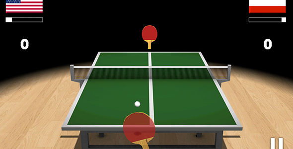 Codecanyon Ping Pong 3D with Admob