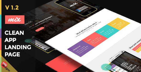 Themeforest Responsive Bootstrap App Landing Page v1.2