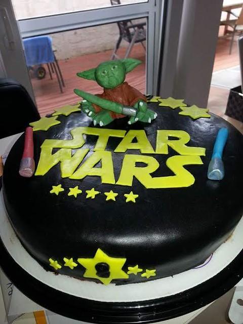 Star Wars Themed Cake by Sabine Brandt