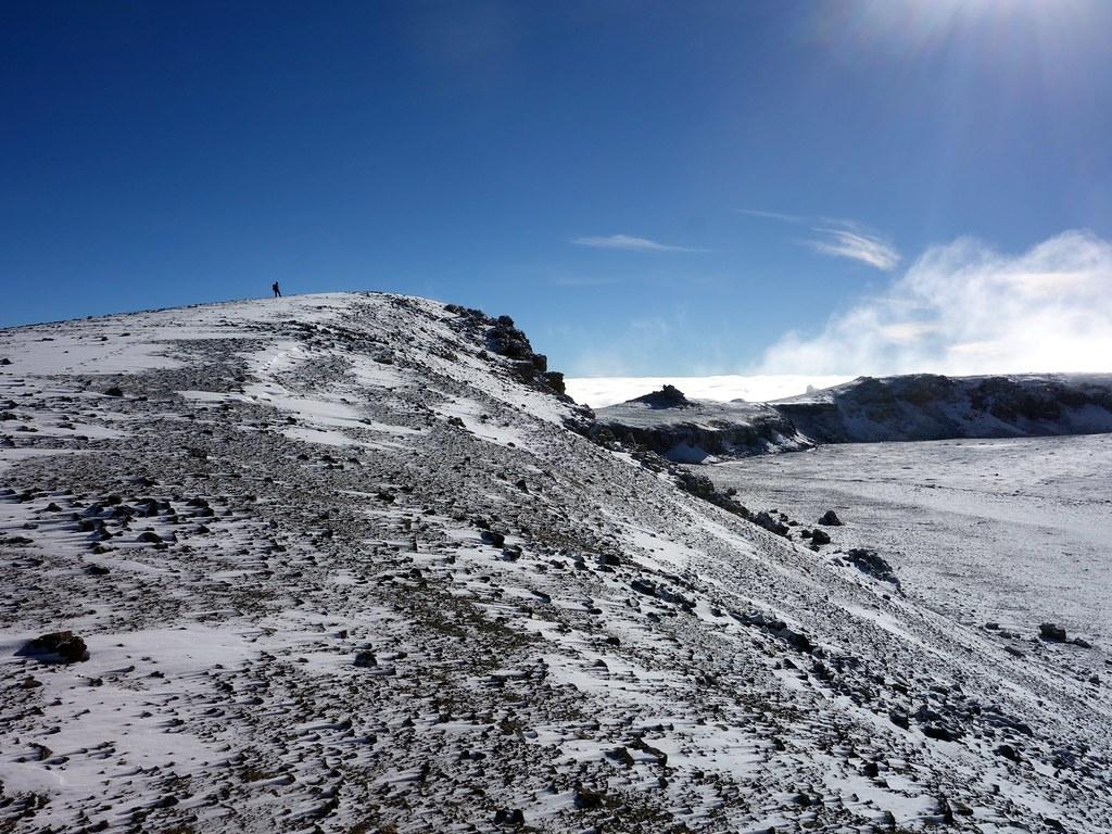 Traversing the inner crater