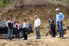 Alcalde recorrió represa Río Grande
